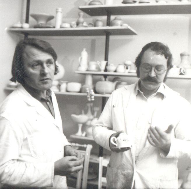 Stöhr mit Nussmann. Zwei Porzelliner in Lichte-Wallendorf