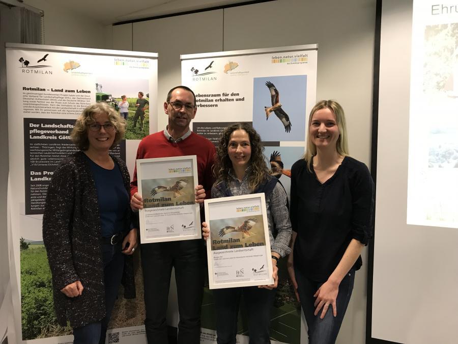 Preisträger Rotmilanfreundliche Landwirtschaft
