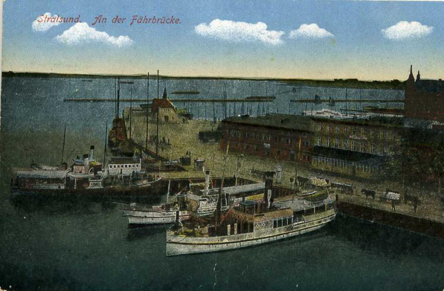 Stralsund An der Fährbrücke
