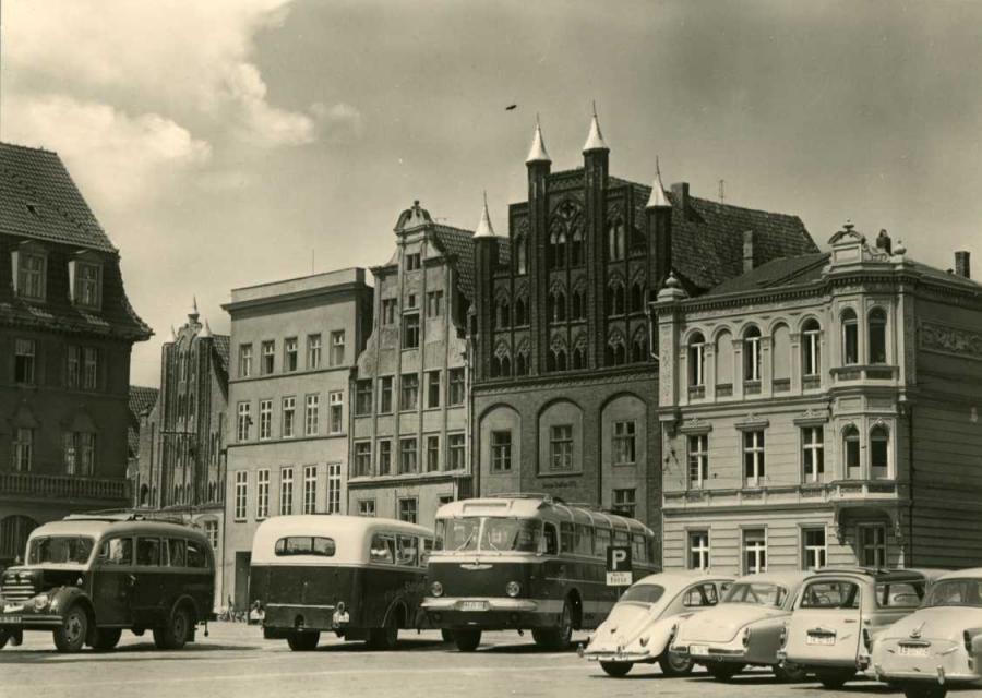 Stralsund Altmarkt 1964
