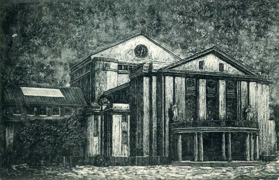 Stralsund Das neue Stadttheater 1913
