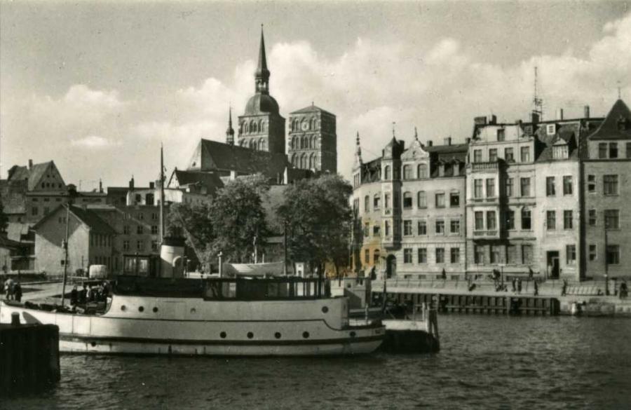 Stralsund Hafen 1961