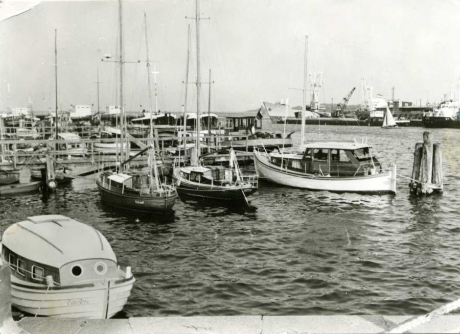 Stralsund Hafen 1976
