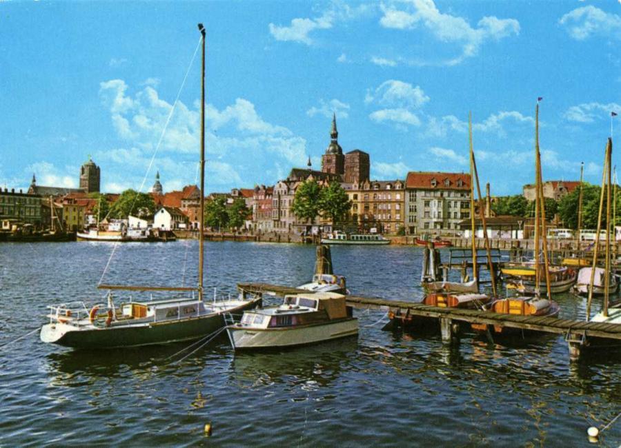 Stralsund Hafen 1980