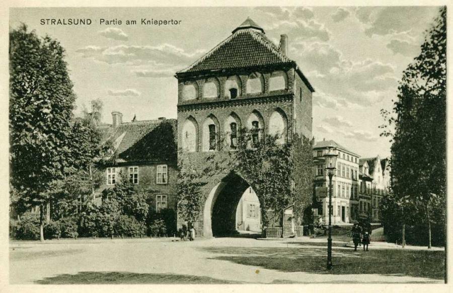 Stralsund Partie am Kniepertor