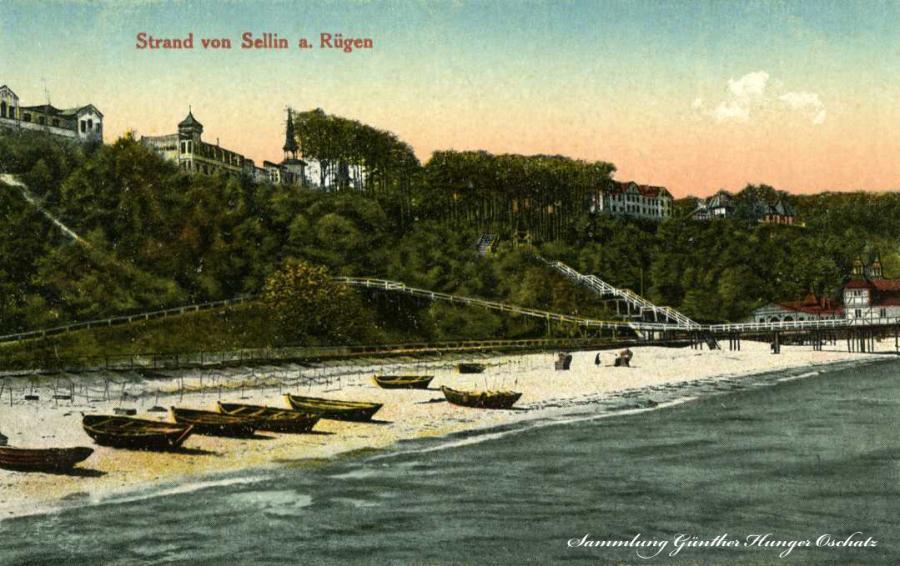 Strand von Sellin a. Rügen