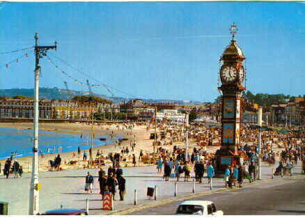 Strandpromenade aus Weymouth and Portland