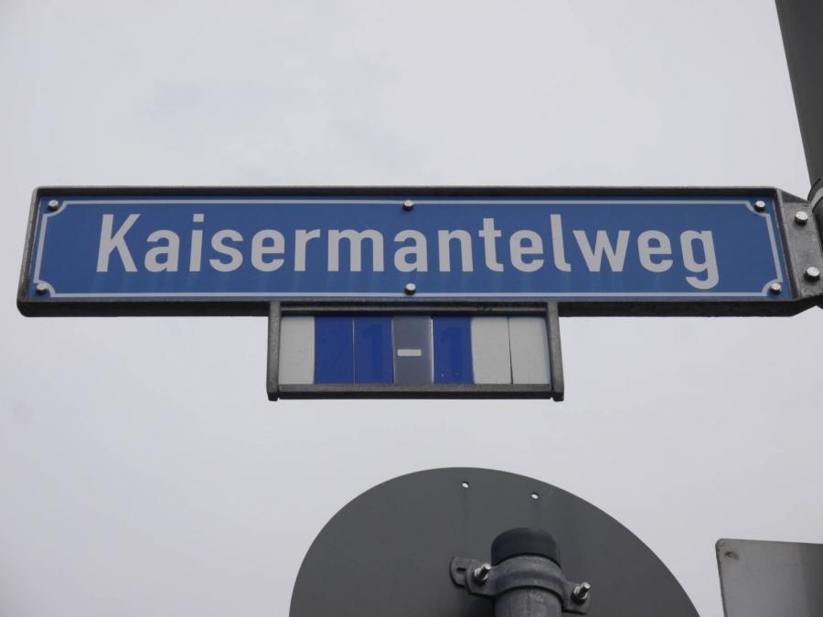 Schild Kaisermantelweg