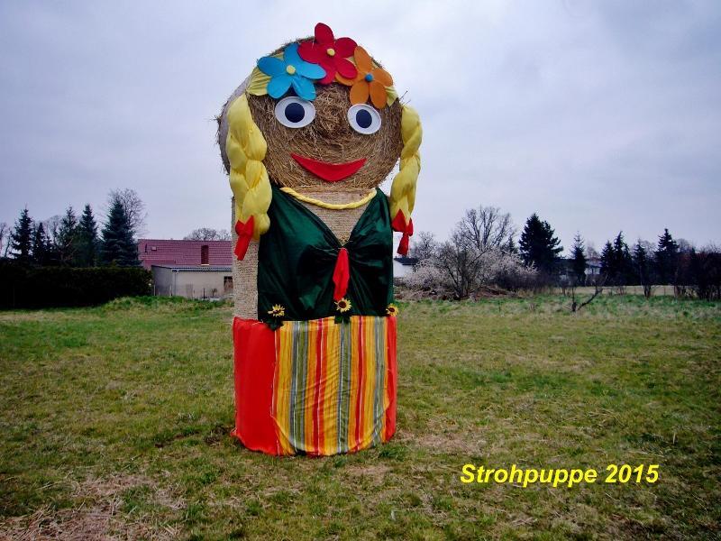Strohpuppe BUGA 2015