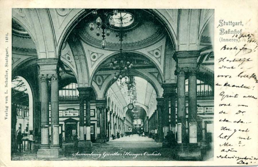 Stuttgart Bahnhof Inneres