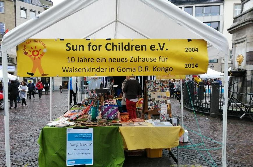 Sun for Children beim Begegnungsfest VIELFALT 2019