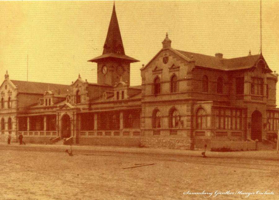 Swakopmund Bahnhofsgebäude
