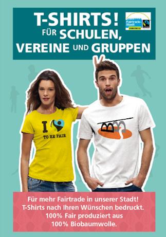 T-shirts für Schulen, Vereine und Gruppen