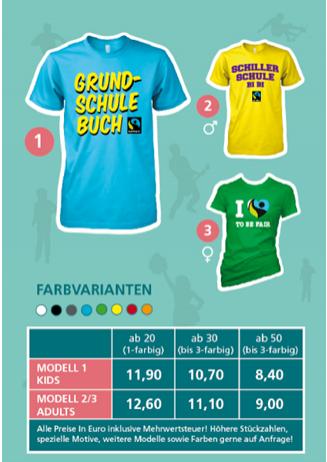 T-shirts für Schulen, Vereine und Gruppen-Seite 3