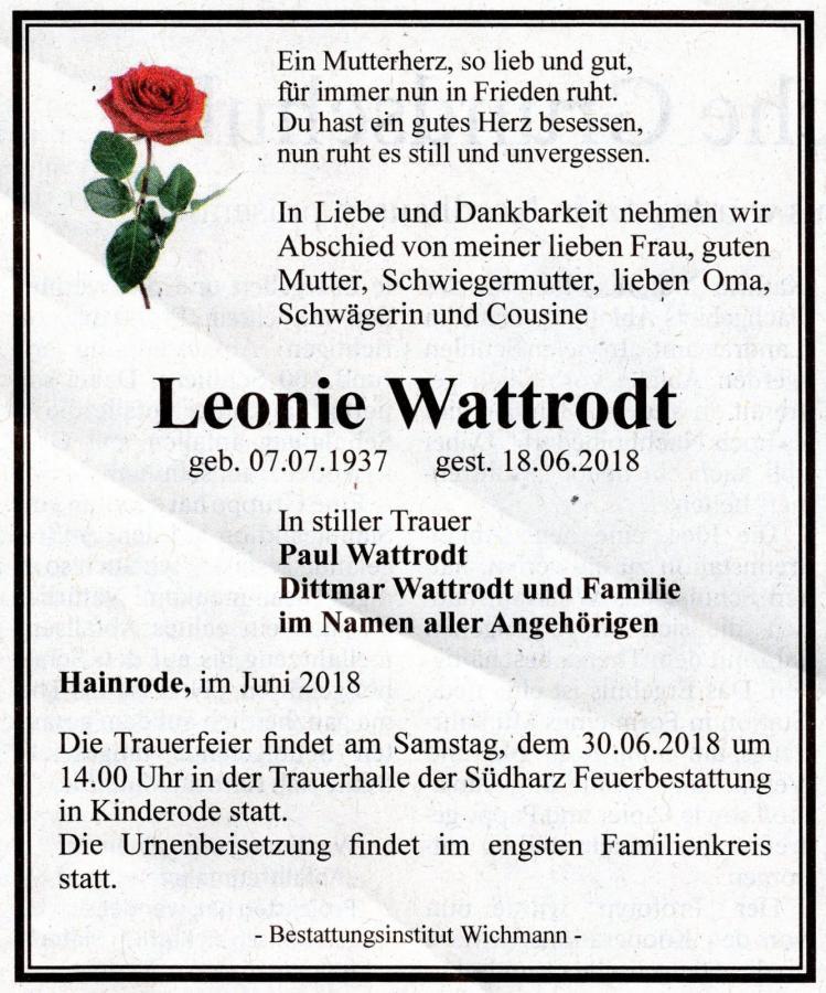 L Wattrodt