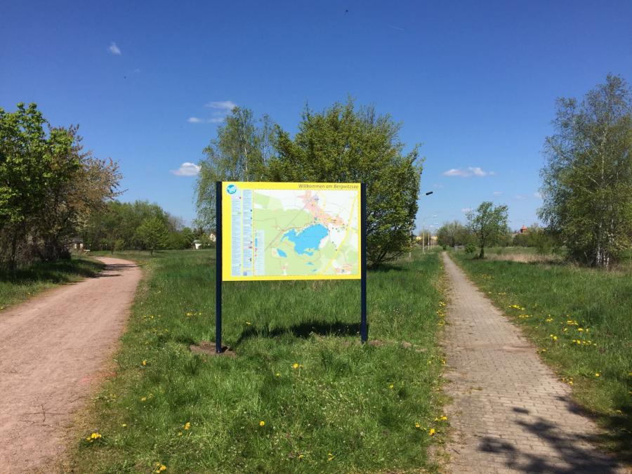 Tafel Bergwitzsee