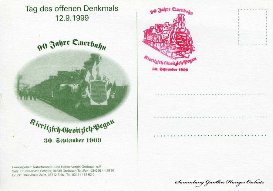Tag des offenen Denkmals 12.9.1999