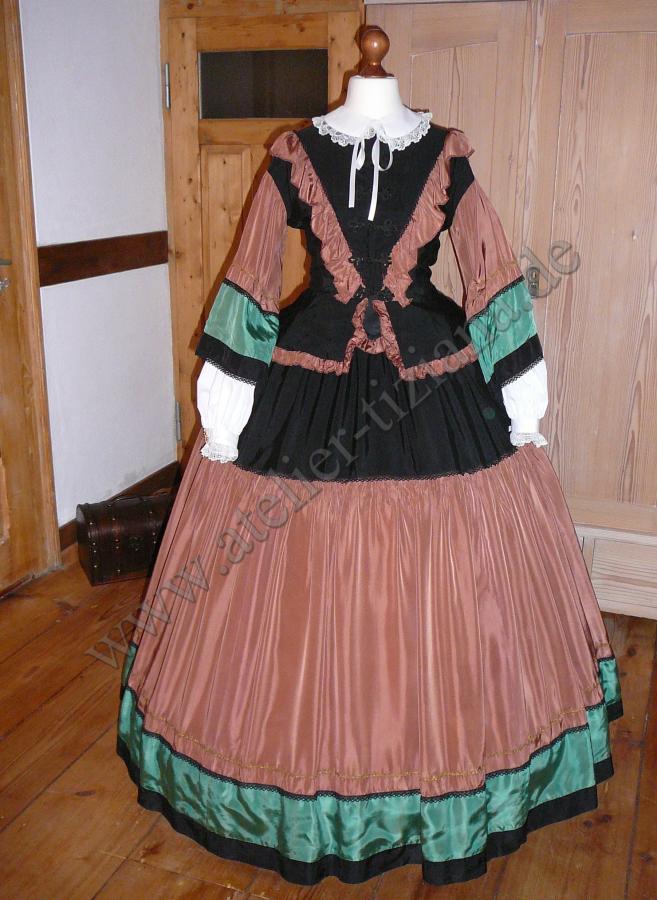 Krinolinen Kleid