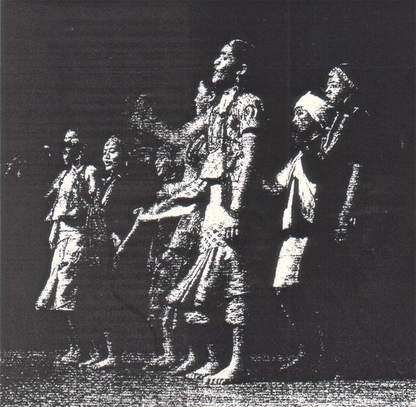 Tanz der Mädchen aus Nepal