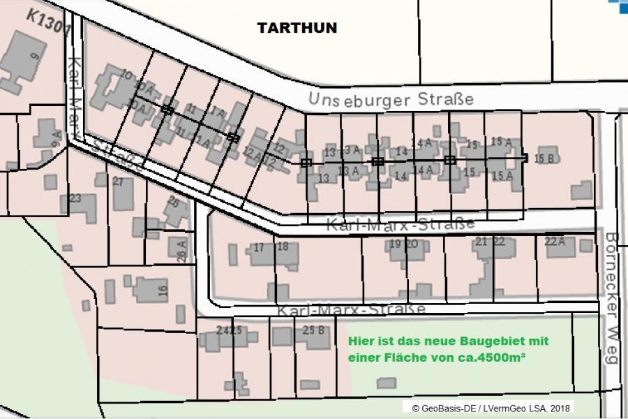 Tarthun Baugebiet K. Marx Str.