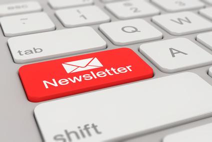 Newsletter Tastatur