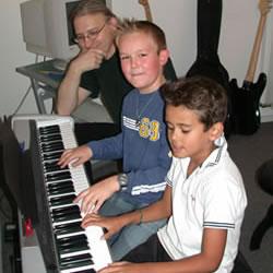 Tastenkinder-Kurs Unterrichtsfach an der Musikschule des Music College Hannover