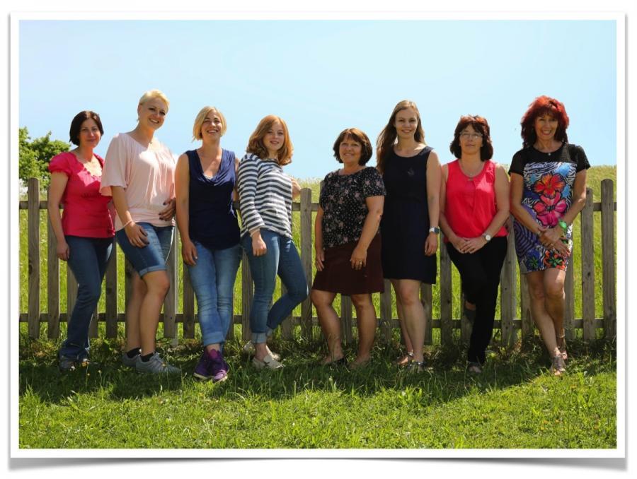 Das Team der Erzieherinnen