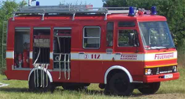Fahrzeug TSF MAGIRUS DEUTZ 90 M V