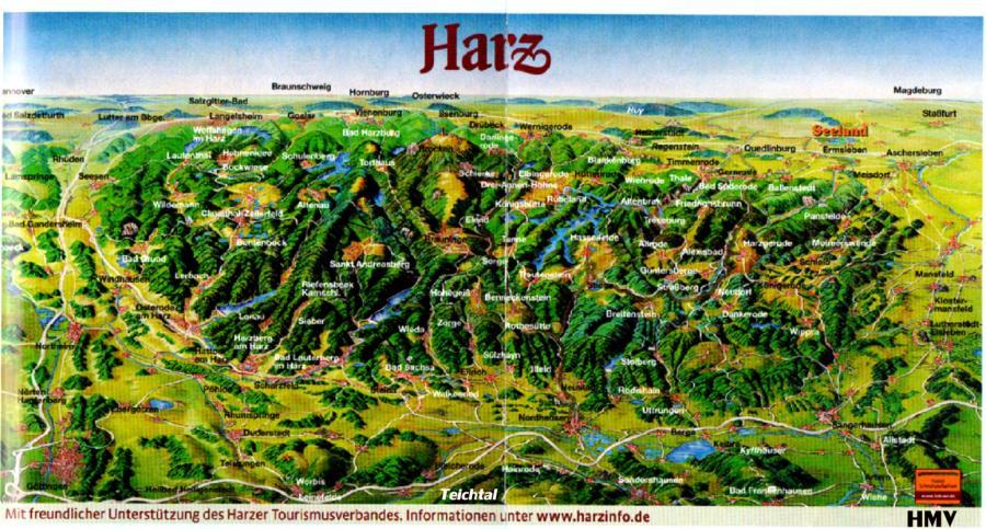 Teichtal - Harz / Panorama