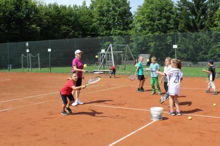 Schulfest 2014 Tennis 2