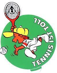 Tennis ist toll