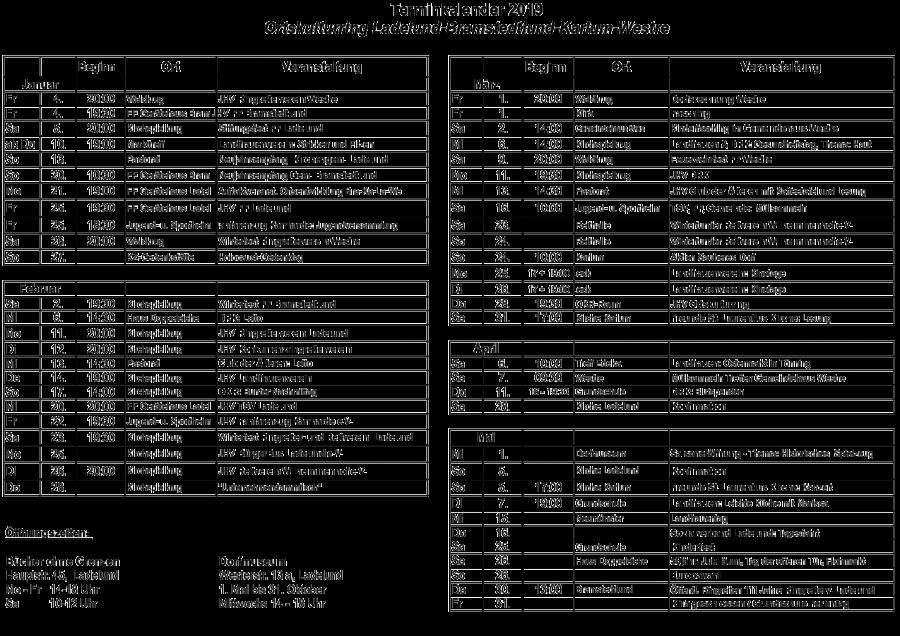 Kalender 2019-1