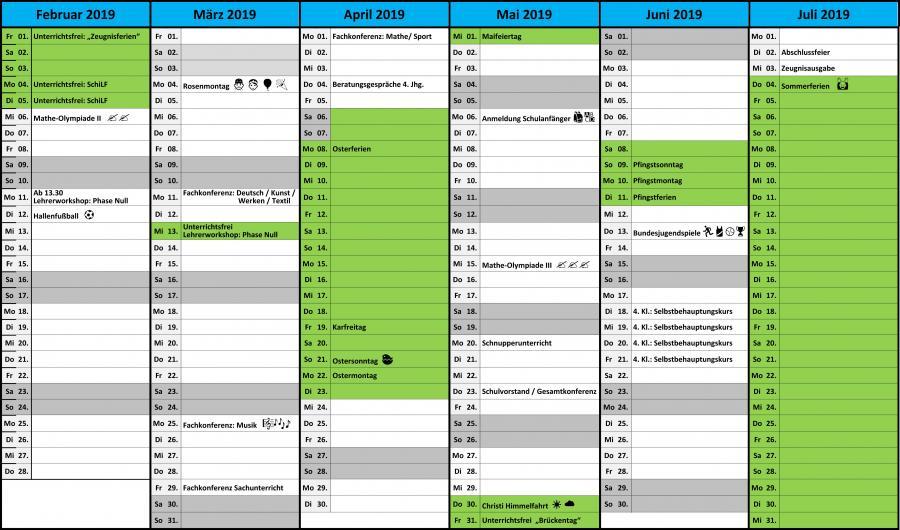 Terminplan 18-19  2Hj