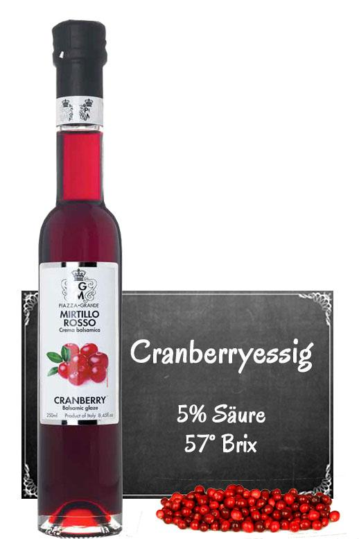 Cranberry Essig Balsam