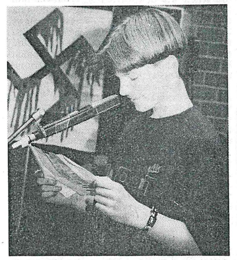 Carsten P. trug Texte gegen Gewalt und Fremdenfeindlichkeit vor.