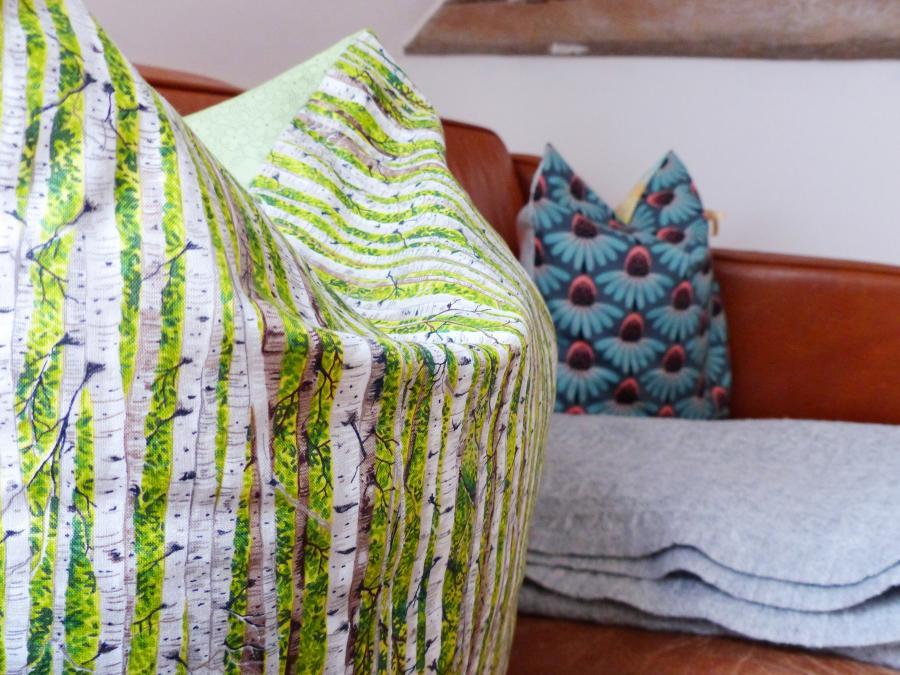 Textilkunst  Foto: J. Gössling