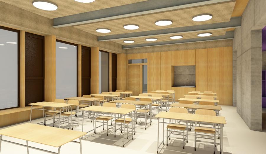 Theodor-Fontane-Grundschule Beispiel Klassenzimmer