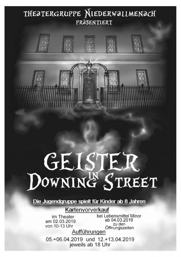 Downing Street Plakat