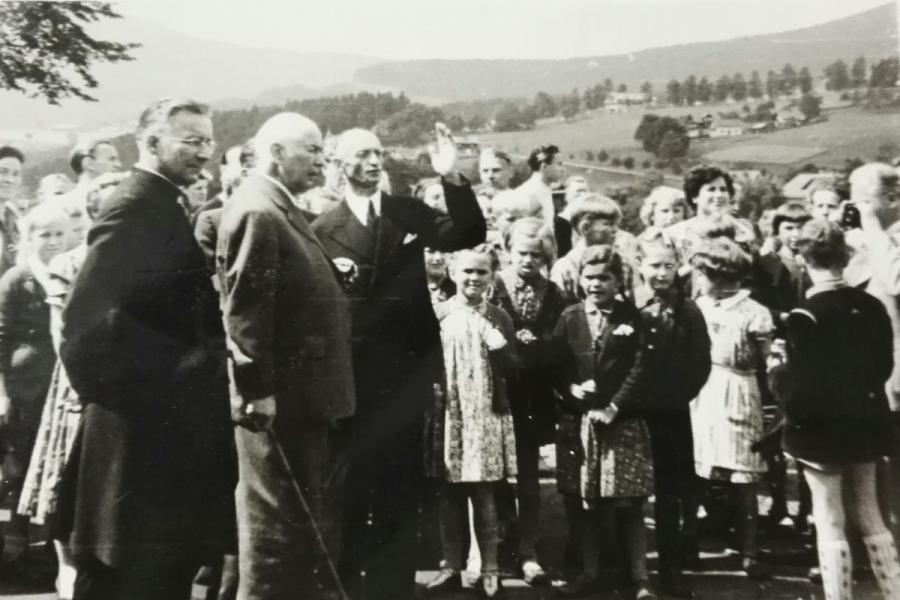 Theodor Heuß verbrachte 1954 seinen Urlaub in Bayerisch Eisenstein