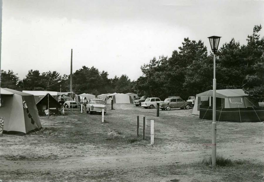 Thiesow  Zeltplatz 1976