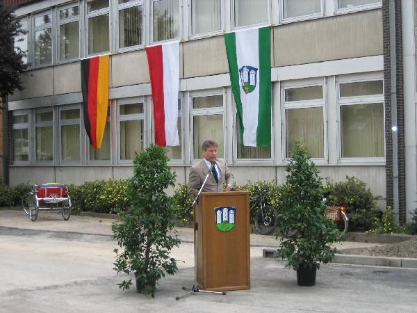 Foto: Freigabe der Serastraße