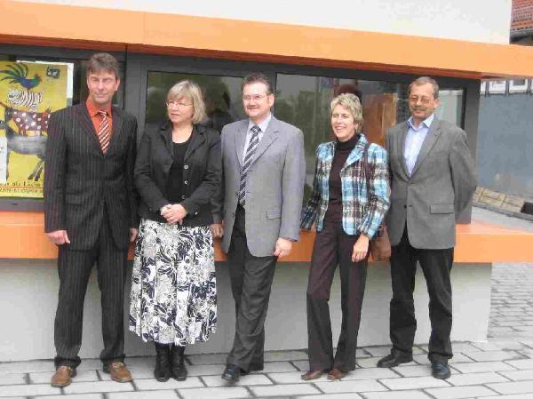 Foto: Einweihung der neuen Stadt- und Schulmediothek am Kampweg