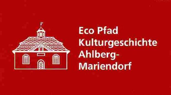 Logo: Eco-Pfad Kulturgeschichte Ahlberg-Mariendorf