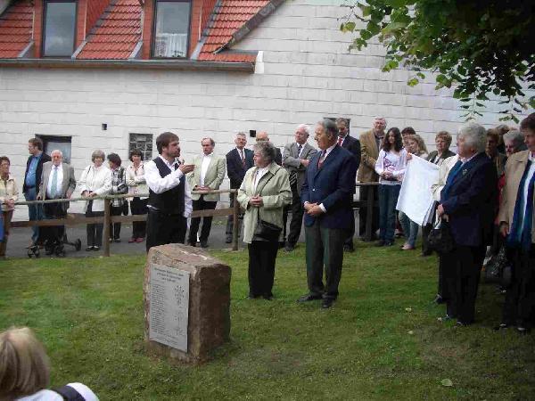Foto: Die evang. Kirchengemeinde feiert 300 Jahre Kirche nach ihrer Einweihung 1710