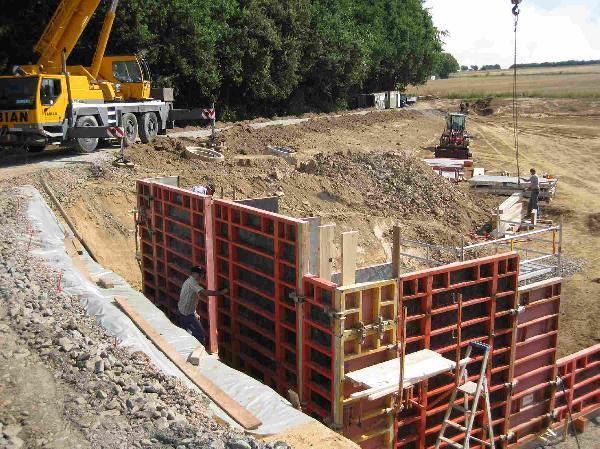 Foto: Umbau Regenüberlaufbauwerk