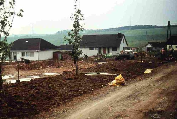 Foto: Bebauung des Leutenhäuser Berges