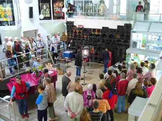 Foto: Museumsfest anlässlich des 20-jährigen Bestehens des Glasmuseums