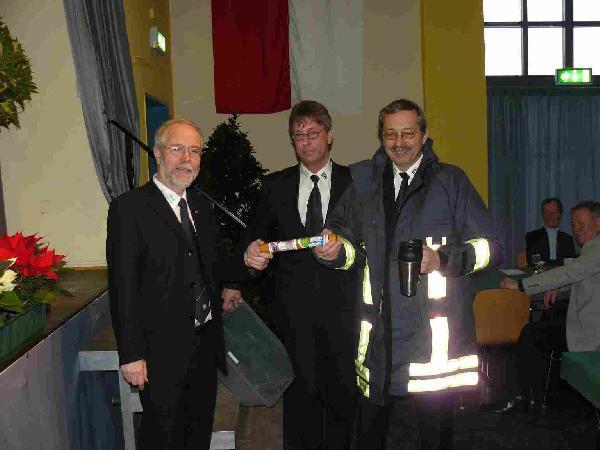 Foto: Verabschiedung Bürgermeister Andreas Güttler und Amtseinführung Bürgermeister Herbert Rössel