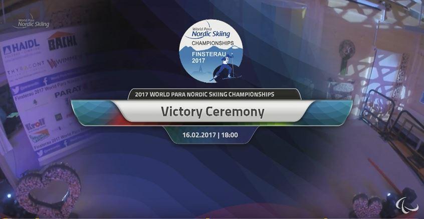 Victory Ceremony 16.02.2017