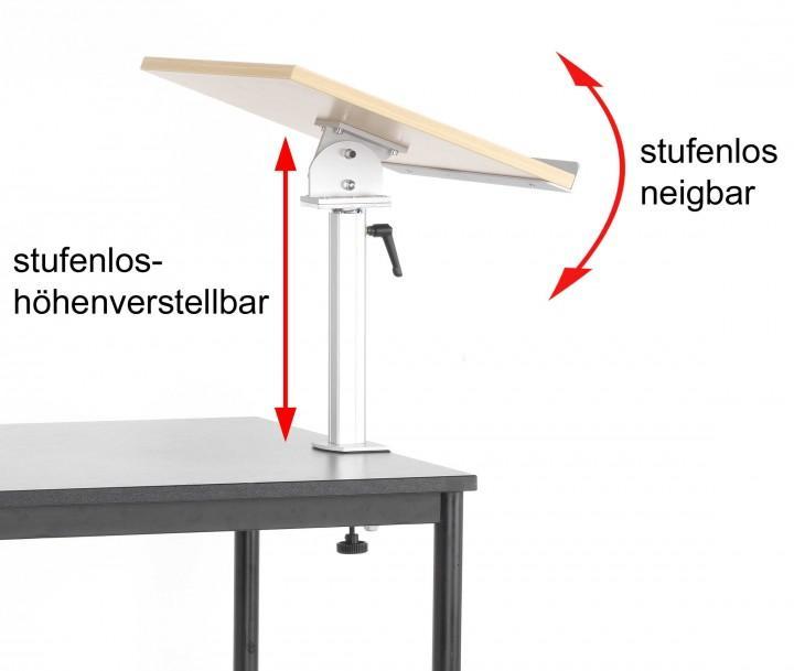 Tischpult zur nachträglichen Montage